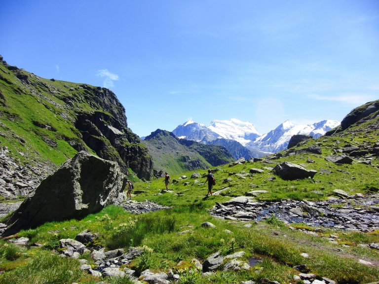 Summer hiking in Verbier