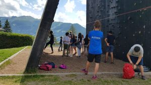 Altitude Camps - kids climbing in the outdoor park