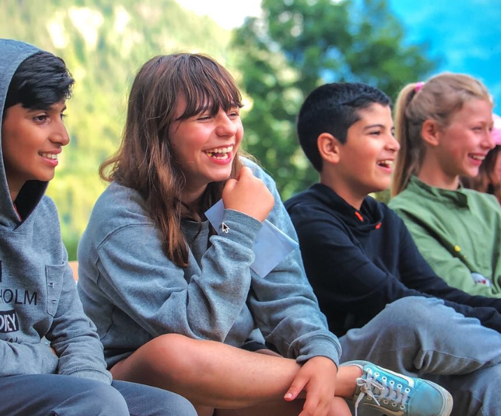 Altitude Camps Homepage - kids laughing