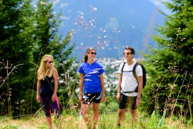 Hiking in Verbier - Adults in the mountains