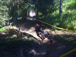 Extreme Sports Blog - guy mountain biking down the hill