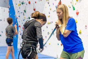 Summer Camp Climbing Activity